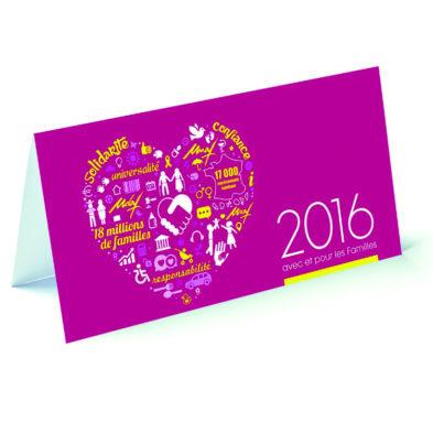 Carte de voeux 2016 - UNAF