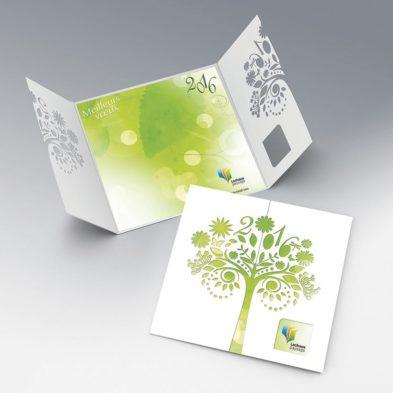 Carte de vœux - LACHAUX PAYSAGE