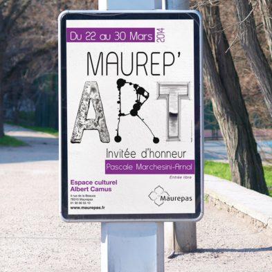 Affiche Exposition - MAUREPAS