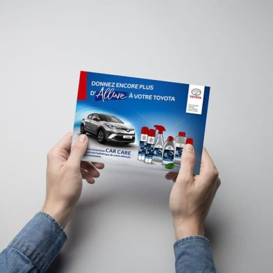 Mailing Car Care - Toyota France