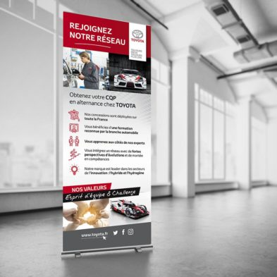 Roll'up recrutement d'alternants - Académie Toyota