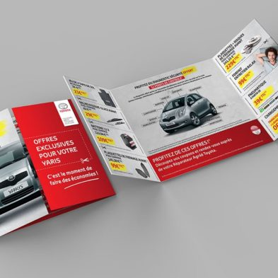 Mailing Promotionnel - Opération YARIS 2