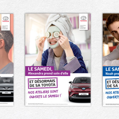 Campagne Ouverture le samedi - Toyota France