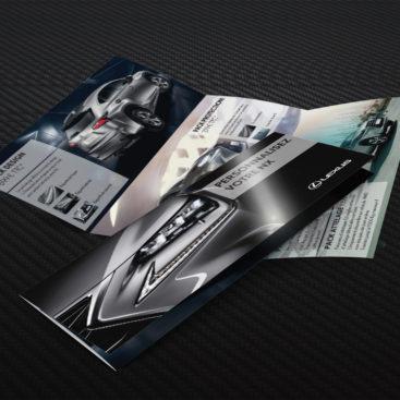 Plaquette de présentation NX - Lexus
