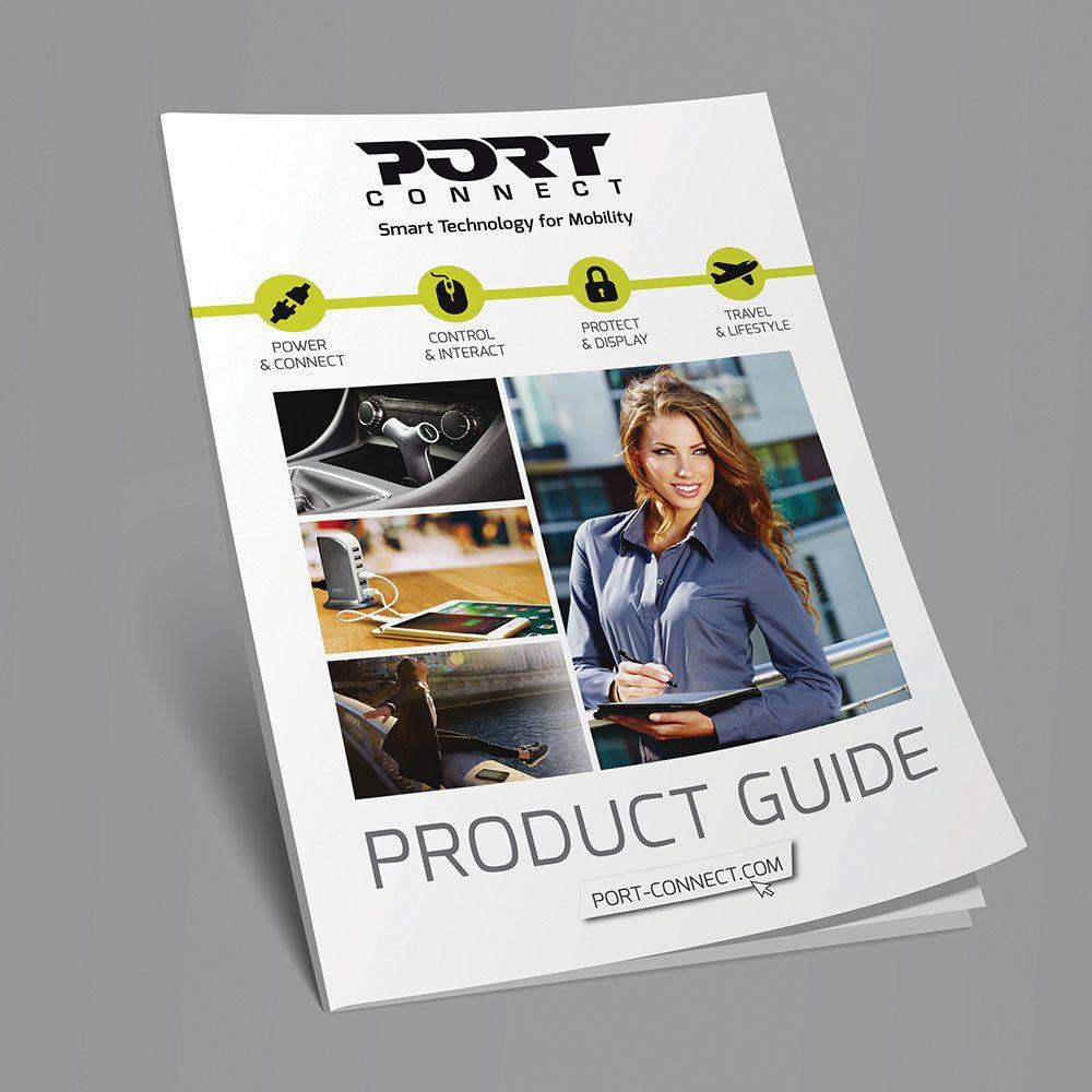 Plaquette Produits - Port connect