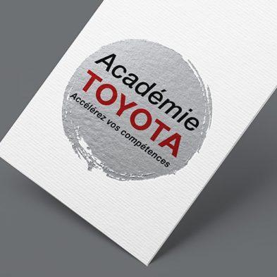 Graphiste Freelance - Création Logo Académie TOYOTA
