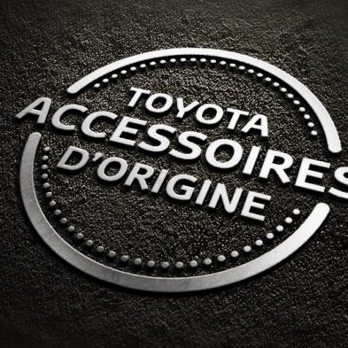 Graphiste Freelance Creation Logo Accessoires d'origine - Toyota France